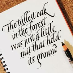 Typography Quotes for your Inspiration Calligraphy Tutorial, Calligraphy Words, Calligraphy Handwriting, Calligraphy Alphabet, Penmanship, Modern Calligraphy Quotes, Calligraphy Doodles, Hand Lettering Fonts, Creative Lettering
