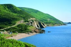 Cape Breton Highlands National Park -Nova Scotia  The headlands and cliffs of Cape Breton Highlands tower over the rich, natural heritage that is all around. Home to the famous Cabot Trail, the land is blessed with spectacular scenery, abundant wildlife and a human history that stretches back to the last Ice Age. The park offers many accessible treasures and experiences remarkable in their diversity, beauty, and wonder.