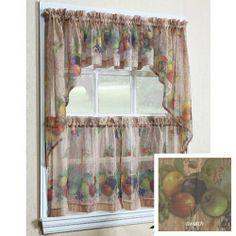 Autumn Fruits Kitchen Curtain Pair Of 36 Part 81