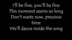 """""""Dance Inside""""-All American Rejects."""