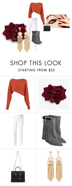 """Halo"" by calistar71 on Polyvore featuring Crea Concept, Michael Kors, Jérôme Dreyfuss and Yves Saint Laurent"