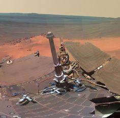 Cráter Endeavour Planeta Marte  NASA Mars