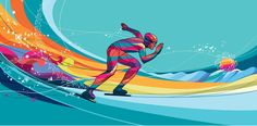 Winter sport 2011 on Behance