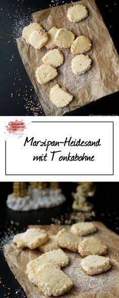 Marzipan-Heidesand | | Weihnachtsbäckerei | Rezept | Backen | Plätzchen