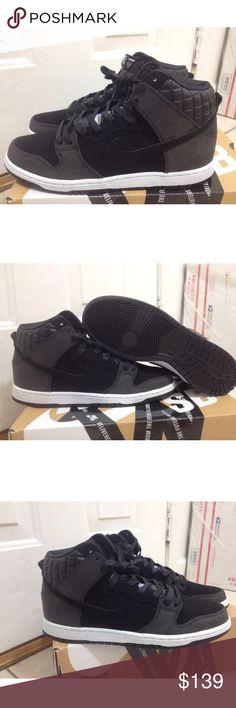 Nike SB Dunk High Boot Black Black | Footshop