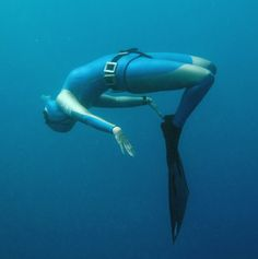Free diving. Free Dive, Underwater Pictures, Open Water Swimming, Underwater Photography, Deep Blue, Diving, Wetsuit, Bing Images, Ocean