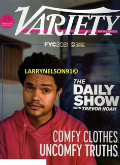 Michael Che, Variety Magazine, Trevor Noah, The Daily Show, Cover Pics, Snl, Magazines, Comedy, Friends