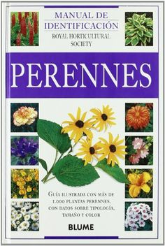 Incluye más de 1.000 fotografías de más de 1.000 plantas perennes; este manual le ayudará a escoger y cultivar sus plantas preferidas. Incluye nombres comunes en castellano, catalán, euskera y gallego. [Fotografía y resumen de Amazon.es]
