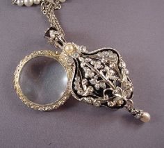 Edgar Berebi limited edition magnifying glass pendant