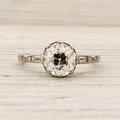 Diamond Crush on this Old European Cut Diamond.