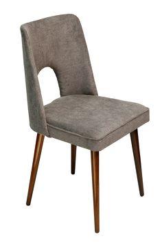 krzesło szare, Polska, lata 70.
