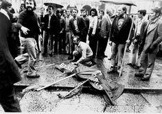 Brescia - Piazza della Loggia 1974