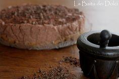 Cheesecake al mascarpone e crema di nocciole