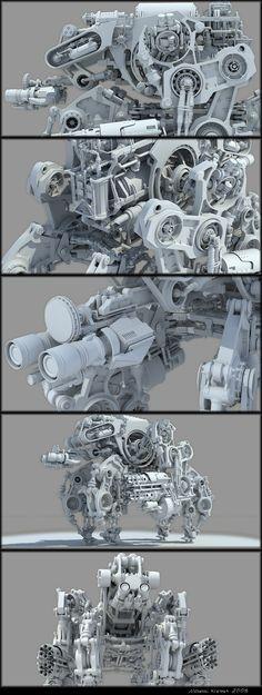 Bot3 (WIP) | Designer: Chiaroscuro