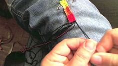 Rainbow Bands Friendship Bracelet Tutorial Part 2 of 2