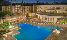 Groupon - One- or Two-Night Stay with Welcome Drinks and Breakfast at Indian Wells Resort Hotel in Greater Palm Springs, CA in Greater Palm Springs, CA. Groupon deal price: $69.0.00