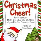 $This 100 page packet will fill your student's faces with holiday cheer! There are 12 Math and Literacy stations included to keep your students enga...