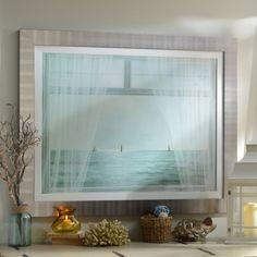 Morning Window Framed Print