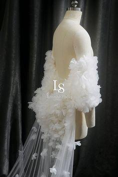 Bridal Cape, Wedding Veil, Victorian, Dresses, Fashion, Vestidos, Moda, Fashion Styles, Dress