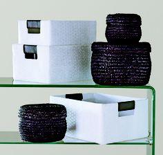 Purple decor!  Decorating with purple & white!   For more details, visit www.bouclair.com.     Décor mauve!  Décorez avec du mauve et du blanc!   Pour plus de détails, visitez le www.bouclair.com.