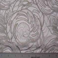Alencon Lace #34 Fabric – Designer Fabric by The Yard