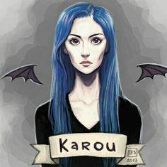 Karou Hija de humo y hueso