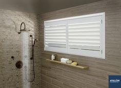Hunter Douglas NewStyle® Hybrid Shutters | Available at Avalon Flooring | #shutters #windowshutters #windowtreatments #hunterdouglas