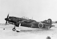A Kawanishi N1K Shiden, allied codename George (probably N1K4-J Shiden Kai Model 32 - only two prototypes were built).