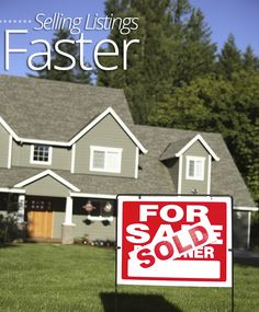 #Clients want their #home sold as quickly as possible, so make sure you're #marketing tactics are moving these properties as efficiently as possible! Check out 5 tips for selling #listings faster on Homes.com!