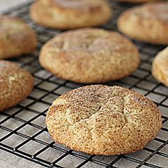 The classic Snickerdoodle, but lighter in calories and lower in fat!