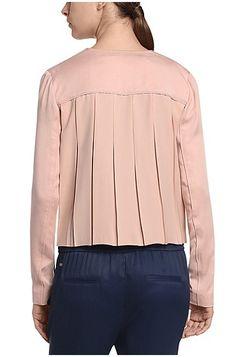 Blazer jacket with accordion pleats: 'Ocuty'