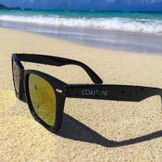 eeec3c5911f Beach Cruiser light weight Nylon frame Wayfarer style Mirror Lenses 100% UV  Protection
