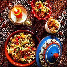 話題のアルガンオイルでモロッコ伝統のブルグルサラダ