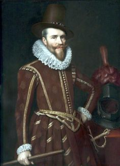 Date unknown - Mierevelt, Michiel Jansz van - Edward Cecil, Viscount Wimbledon February 1572 – 16 November was an English military and naval commander and a politician who sat in the House of Commons at various times between 1601 and Elizabethan Clothing, Elizabethan Costume, Elizabethan Fashion, Tudor History, British History, 16th Century Fashion, 17th Century, Roi George, Wimbledon