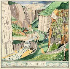 Tolkien's own interpretation of Rivendell