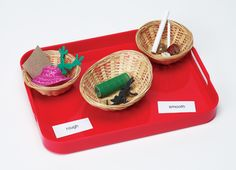 Montessori Materials Product Detail: Montessori N' Such (rough and smooth sensory classification kit)