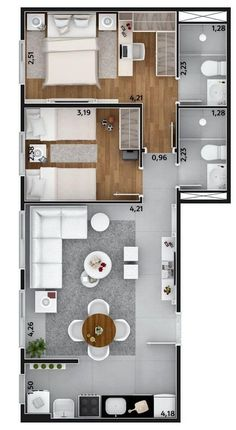 Sims 4 house ideas Gray Things gray color ideas for living room Sims House Plans, House Layout Plans, Modern House Plans, Small House Plans, House Layouts, House Floor Plans, Room Layouts, Apartment Layout, Apartment Design