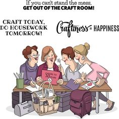 We've just added Crafty Girls - Ar... to the Kat Scrappiness Store!  More info here:  http://www.katscrappiness.com/products/crafty-girls-art-impressions-girlfriends-cling-rubber-stamp-3-25x2-75?utm_campaign=social_autopilot&utm_source=pin&utm_medium=pin