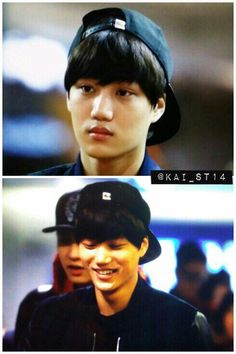 dailyexo:  Kai - 140106 Incheon Airport, arrival from Taipei Credit: KAI_st. (인천공항 출국)  Kai anyeong♥