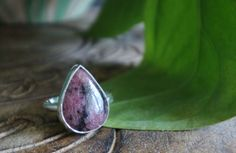 A personal favorite from my Etsy shop https://www.etsy.com/ca/listing/484540509/rhodonite-sterling-silver-ring-rhodonite