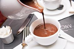 Hot Chocolate at Angelina- Paris-best hot chocolate in the world!