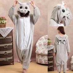 Nijlpaard onesie