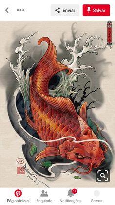 Illustrations Discover koi tattoo design - Tattoos And Body Art Koi Dragon Tattoo Tatto Koi Pez Koi Tattoo Koi Tattoo Sleeve Carp Tattoo Koi Fish Tattoo Forearm Japanese Koi Fish Tattoo Koi Fish Drawing Japanese Tattoo Designs Tatto Koi, Pez Koi Tattoo, Koi Dragon Tattoo, Koi Tattoo Sleeve, Tatoo Art, Carp Tattoo, Koi Fish Tattoo Forearm, Dragon Koi Tattoo Design, Dragon Koi Fish