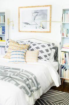 Dreamy bright & cheerful bedroom Daily Dream Decor