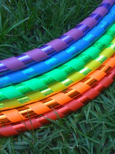 "The first question anyone asks me when starting out hula hooping is ""What size hula hoop should I get? Love Rainbow, Taste The Rainbow, Over The Rainbow, Rainbow Colors, Rainbow Stuff, Bright Colours, World Of Color, Color Of Life, Happy Colors"