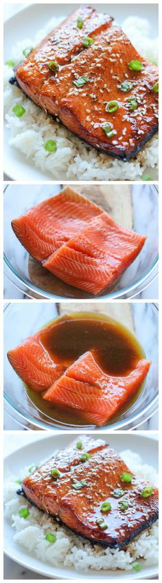 Sesame Ginger Salmon - A super easy salmon dish bursting with so much flavor, and it's hearty-healthy too!  Really good- crowd pleaser with entire family! (Healthy Baking Salmon)