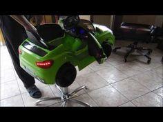 Fotel fryzjerski dla dzieci BMW - tel 888 877 866