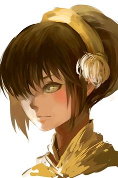 Avatar: The Legend of Aang - Toph Beifong Avatar Aang, Avatar Airbender, Team Avatar, Avatar Fan Art, Studio Ghibli, Art Manga, Avatar Series, Iroh, Fire Nation