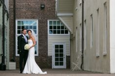 Wedding photos, brick, bride, groom, wedding dress #weddings