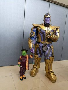 Post with 1629 votes and 80673 views. Tagged with cosplay, marvel cinematic universe, why is gamora; Shared by Thanos and Gamora Cosplay *cliff not included Family Halloween Costumes, Halloween Cosplay, Halloween Fun, Super Hero Costumes, Cool Costumes, Cosplay Costumes, Costume Ideas, Marvel Costumes, Marvel Cosplay